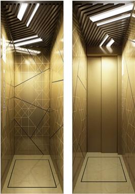 别墅电梯(后现代风格)